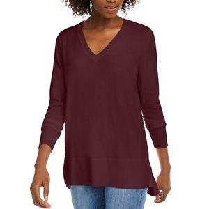 Maison Jules XXL Ruby Wine Sweater 9BH44